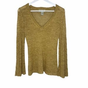 Next Era Couture Woven Sweater Top